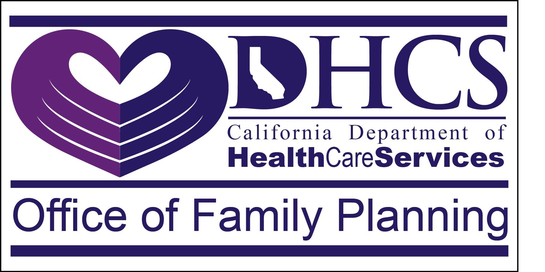 Department of Health Care Services, Office of Family Planning Logo